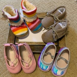4 Piece Bundle of Infant Shoes